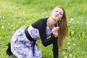 Ukrainische Frau